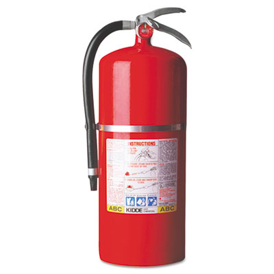 ProPlus 20 MP Dry-Chemical Fire Extinguisher, 20lb, 20-A, 120-B: