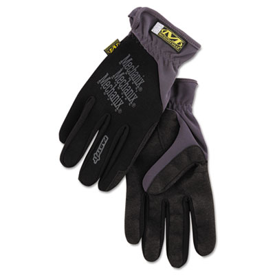 FastFit Work Gloves, Black, Extra-Large