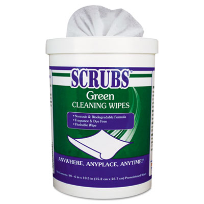 WIPES, SCRUBS, CLEANING, GN