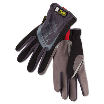 FastFit Work Gloves, Black, XX-Large