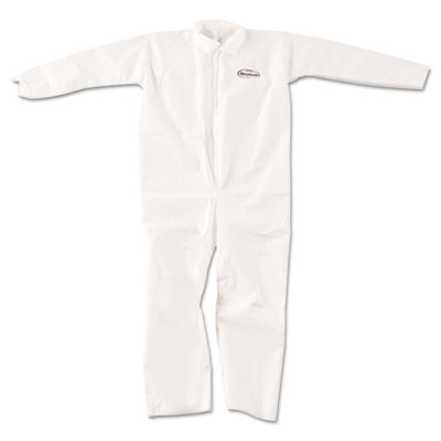 KLEENGUARD A20 Breathable Particle-Pro Coveralls, Zip, XL, White