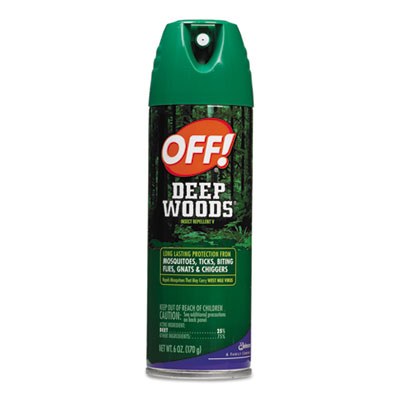 Deep Woods Off!, 6oz Aerosol, 12/Carton