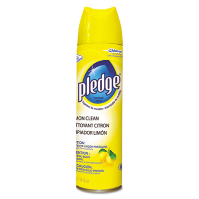 Furniture Polish, Lemon, 13.8oz, Aerosol, 6/Carton