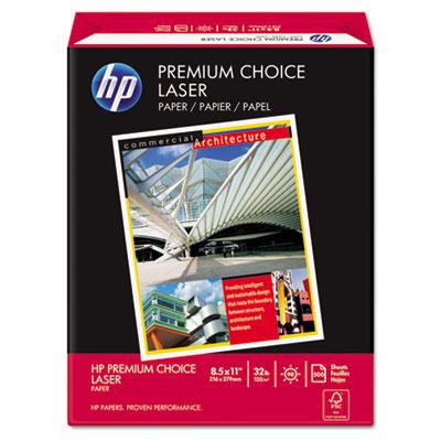 Premium Choice LaserJet Paper, 98 Brightness, 32lb, 8-1/2x11, Wh