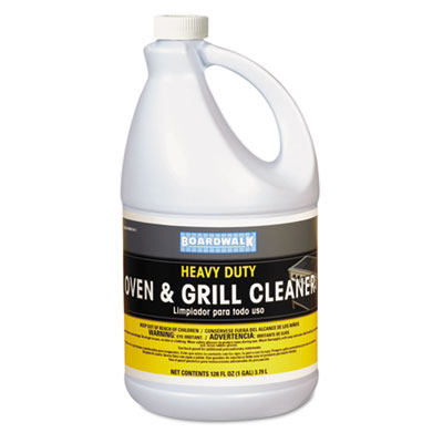 Commercial Oven and Grill Cleaner, 1gal Bottle, 4/Carton