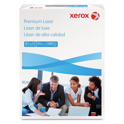 Premium Laser Paper, 97 Brightness, 24lb, 8-1/2 x 11, White, 500