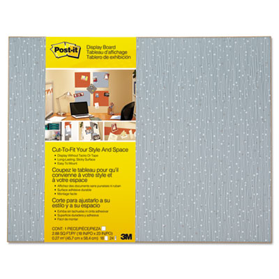 Post-it Display Board, 18 x 23, Ice, Frameless