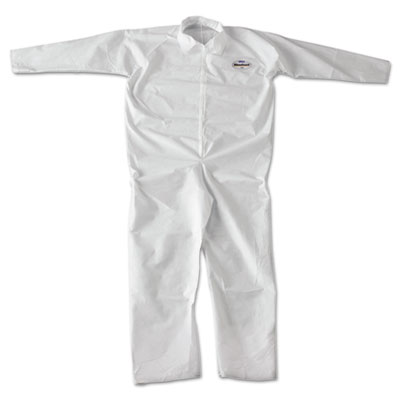 KLEENGUARD A20 Breathable Particle-Pro Coveralls, Zip, 2XL, Whit