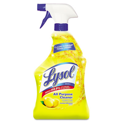 All-Purpose Cleaner, Lemon, 32oz, 12/Carton