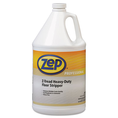 Z-Tread Heavy-Duty Floor Stripper, 1gal Bottle