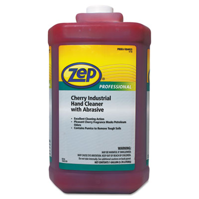 Cherry Industrial Hand Cleaner with Abrasive, Cherry, 1gal Bottl