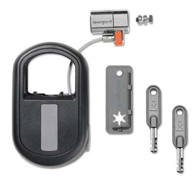 ClickSafe Keyed Retractable Laptop Lock, 2
