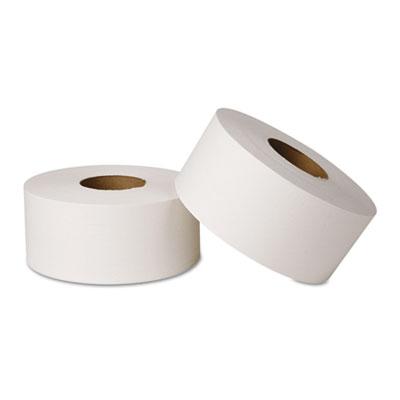 EcoSoft Jumbo Tissue, 2-Ply, 12 Rolls/Carton