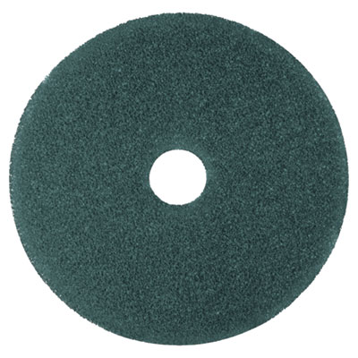 "Cleaner Floor Pad 5300, 13"", Blue, 5/Carton"