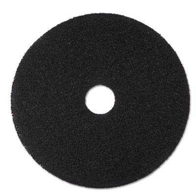"Stripper Floor Pad 7200, 19"", Black, 5/Carton"