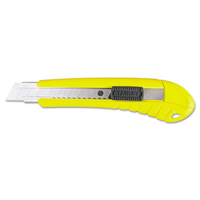 Standard Snap-Off Knife, 18mm, 6 3/4 in