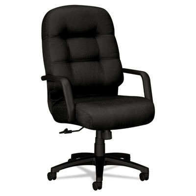 2090 Pillow-Soft Series Executive High-Back Swivel/Tilt Chair, B