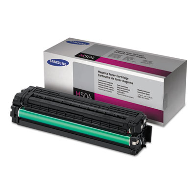 CLT-M504S (SU296A) Toner, 1800 Page-Yield, Magenta<br />91-SAS-SU296A