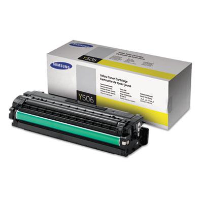 CLT-Y506S (SU528A) Toner, 1500 Page-Yield, Yellow<br />91-SAS-SU528A