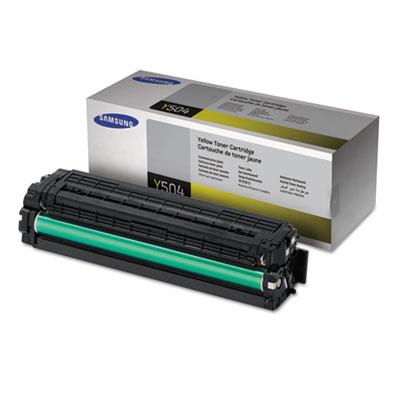 CLT-Y504S (SU506A) Toner, 1800 Page-Yield, Yellow<br />91-SAS-SU506A