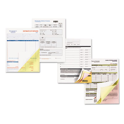 Premium Digital Carbonless Paper, 8-1/2 x 11, White/Canary/Pink,