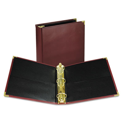 "Classic Collection Ring Binder Portfolio, 11 x 8 1/2, 2"" Capacit"
