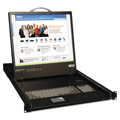 "1-Unit Rackmount Console W/17"" LCD, TAA Compliant"