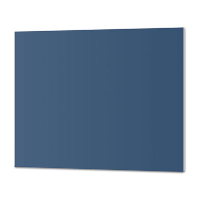 CFC-Free Polystyrene Foam Board, 30 x 20, Blue with White Core,