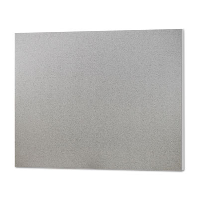 CFC-Free Polystyrene Foam Board, 30 x 20, Graystone with White C