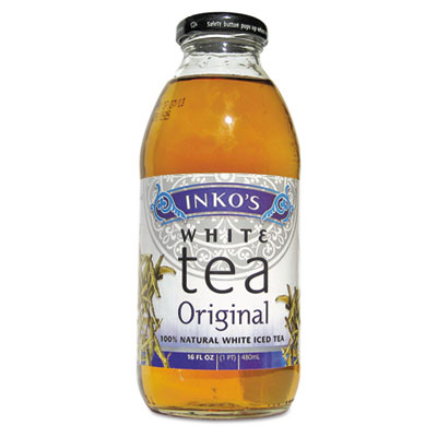 Ready-To-Drink Original White Tea with Ginger, 16oz Bottle, 12/C