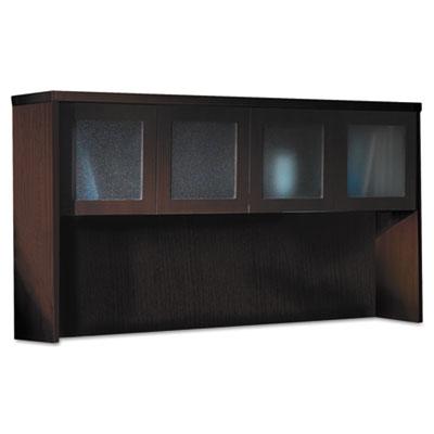 Aberdeen Series Laminate Glass Door Hutch, 72w x 15d x 39-1/4h,