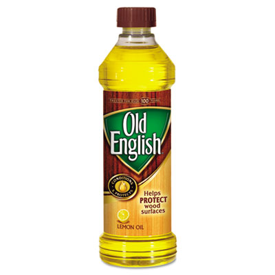 Furniture Polish, Lemon Scent, Liquid, 16oz Bottle