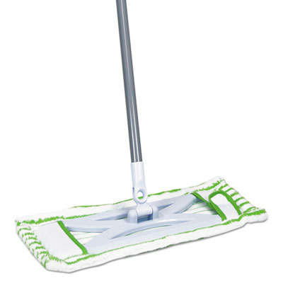 HomePro Mighty Mop Refill, Terry Cloth, 6.5w x 2.5d, Green