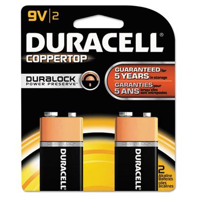 CopperTop Alkaline Batteries with Duralock Power Preserve Techno