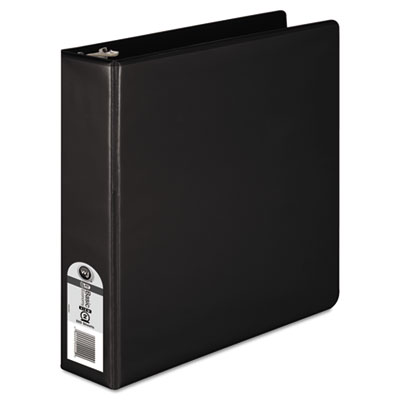 "362 Basic Round Ring View Binder, 2"" Capacity, Black"