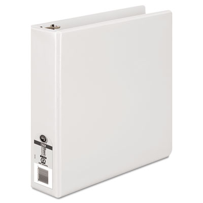 "362 Basic Round Ring View Binder, 2"" Capacity, White"