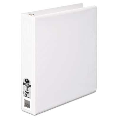 "362 Basic Round Ring View Binder, 1 1/2"" Capacity, White"