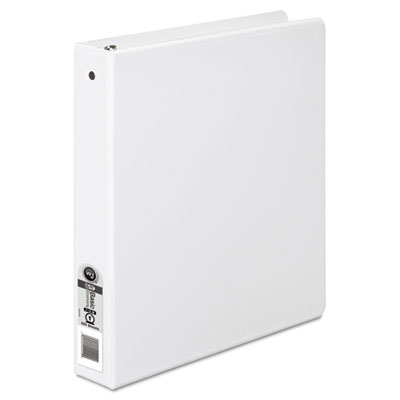 "362 Basic Round Ring View Binder, 1"" Capacity, White"