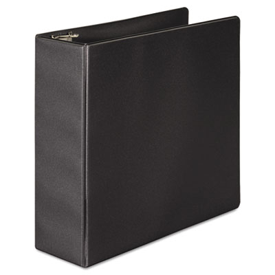"383 Basic Binder, D-Ring, 3"" Capacity, Black"