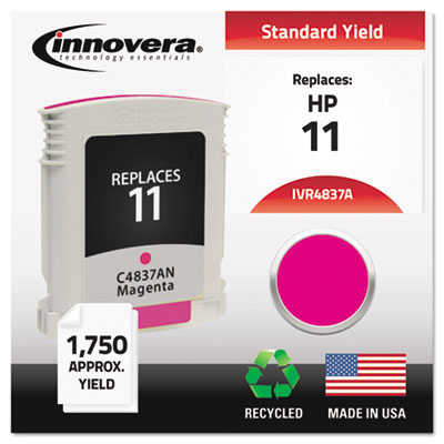 Remanufactured C4837A (11) Ink, 1750 Page-Yield, Magenta