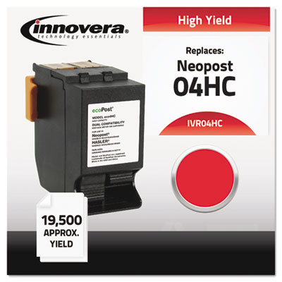 Compatible with ISINK4HC, High-Yield Ink, 19500 Page-Yield, Red