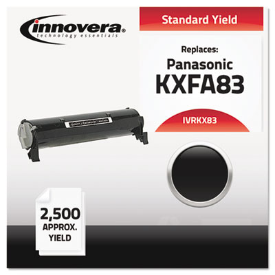 Compatible with KXFA83 Laser Toner, 2500 Yield, Black