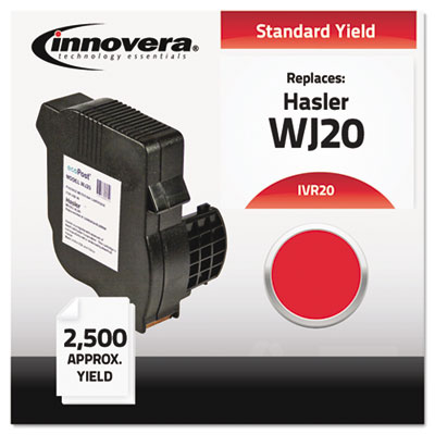 20 Compatible, Remanufactured, 33000262X Postage Meter,  2500 Pa