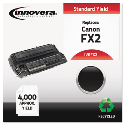 Remanufactured 1556A002BA (FX2) Toner, 4000 Yield, Black