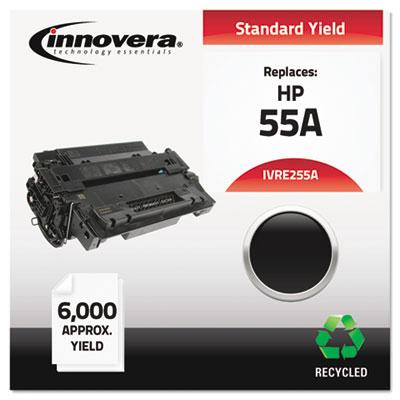 Remanufactured CE255A (55A) Toner, Black<br />91-IVR-E255A