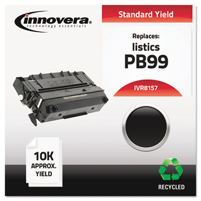 Remanufactured 815-7 (9900) Laser Toner, 10000 Yield, Black