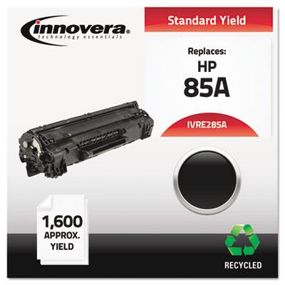 Remanufactured CE285A (85A) Toner, Black<br />91-IVR-E285A