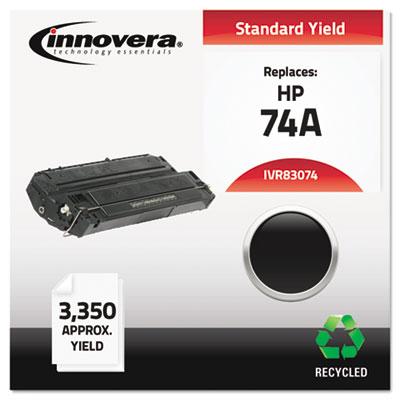 Remanufactured 92274A (74A) Laser Toner, 3350 Yield, Black