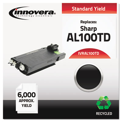 Remanufactured AL100TD Laser Toner, 6000 Yield, Black