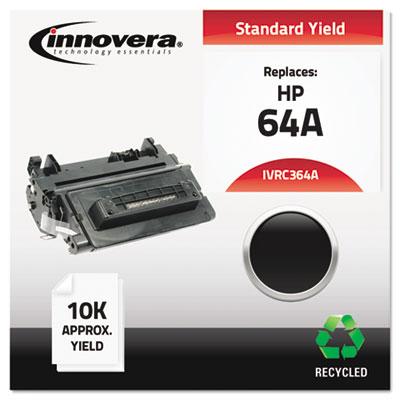 Remanufactured CC364A (64A) Toner, Black<br />91-IVR-C364A